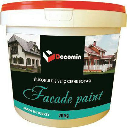 DECOMIN FAÇADE PAINT - Фасадная краска на основе силиконовой эмульсии